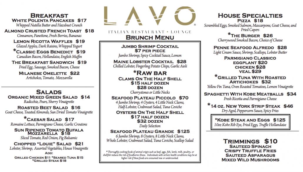 lavo champagne brunch returns to las vegas discotech