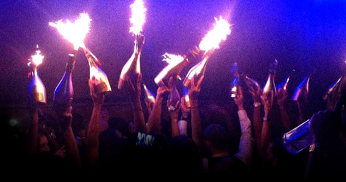 bottles sparklers