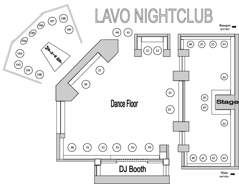 Lavo Lv Bottle Service Discotech The 1 Nightlife App