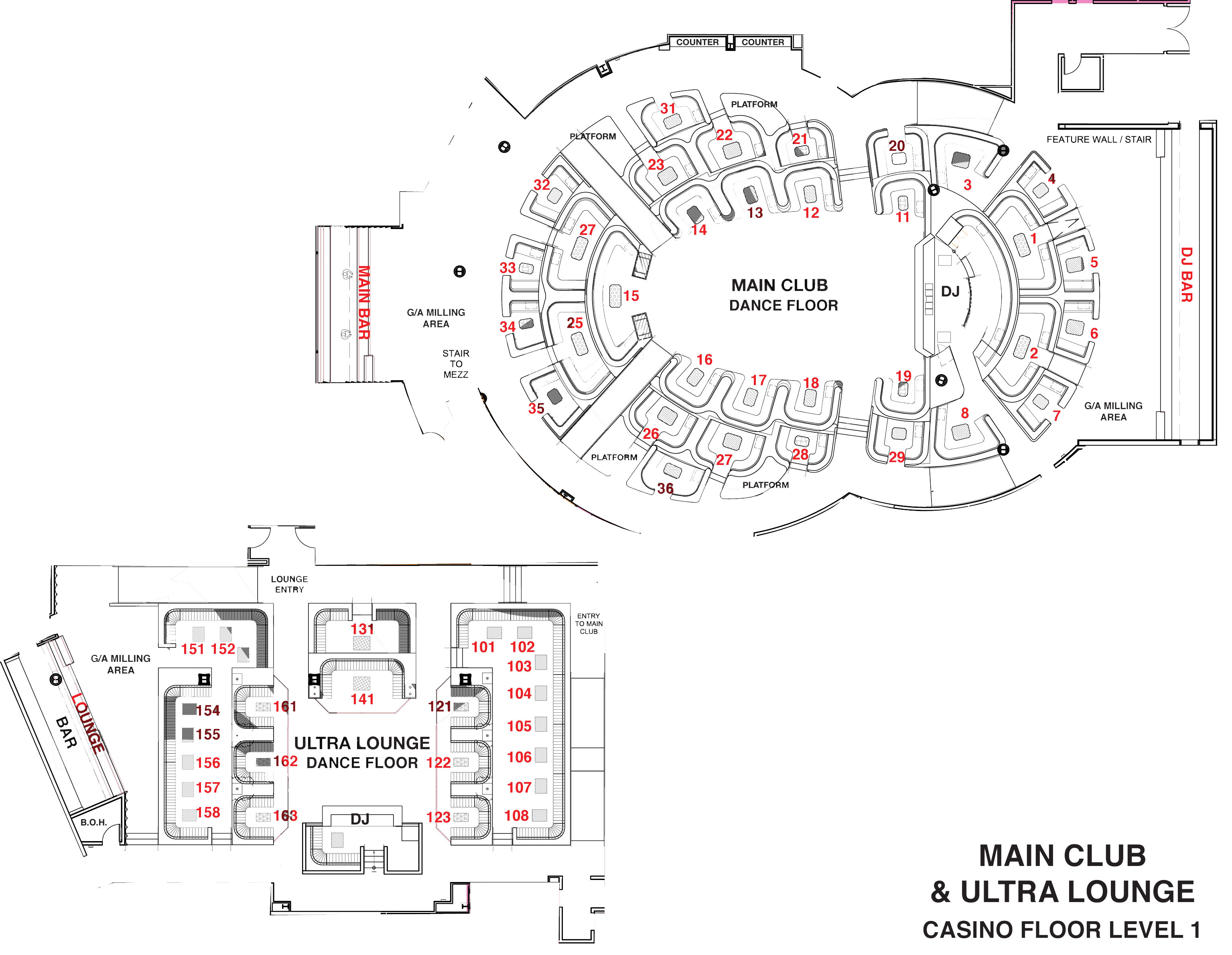 Floor Plan App For Android Omnia Bottle Service Discotech The 1 Nightlife App