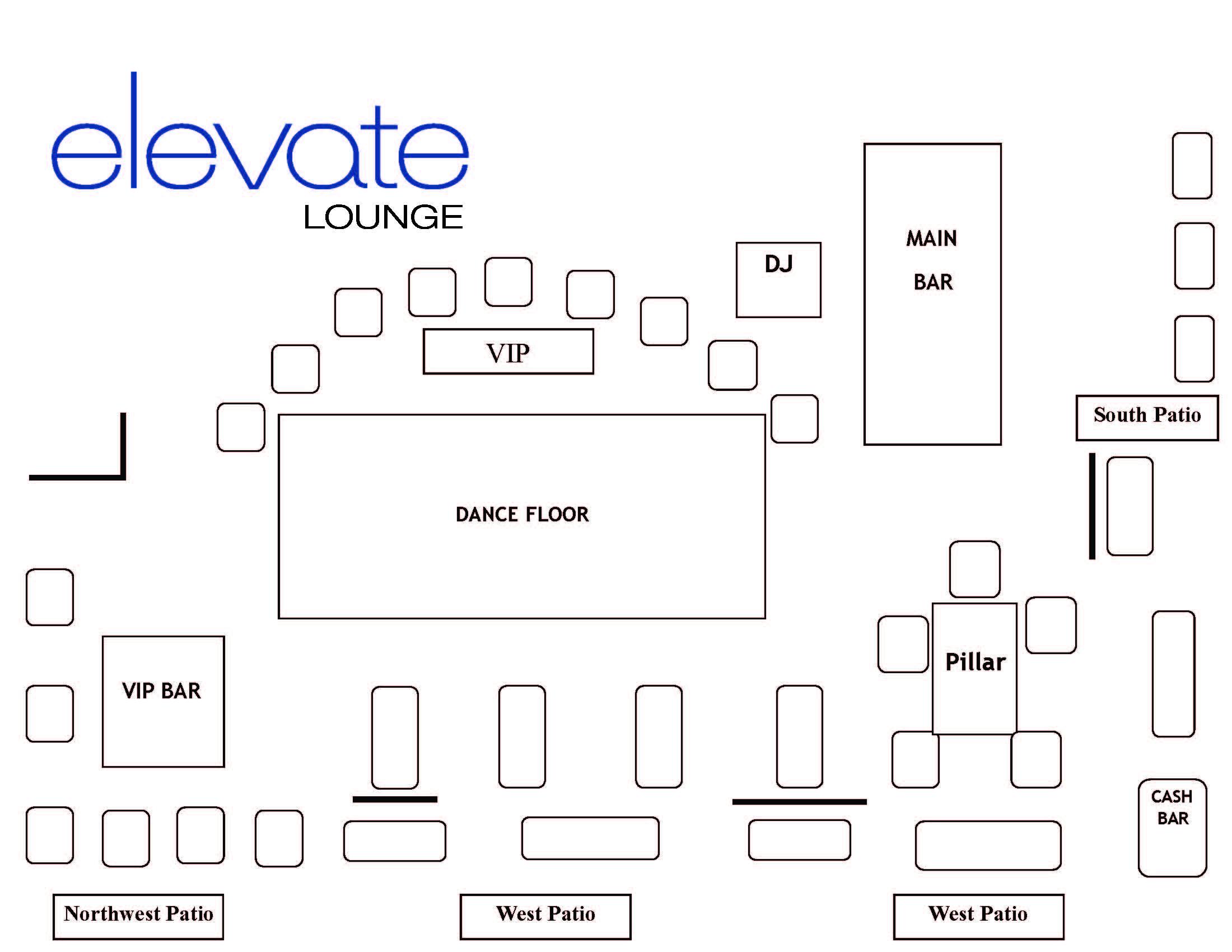 Elevate Lounge Bottle Service Discotech The 1