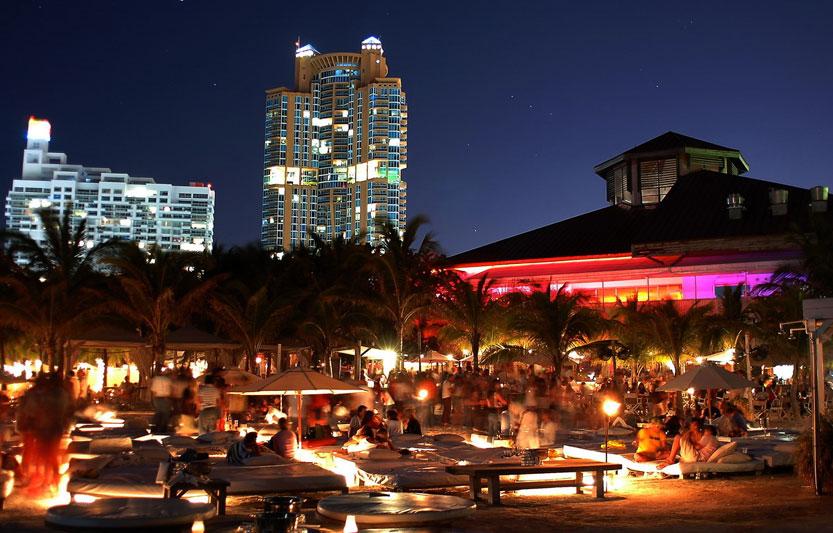 Nikki Beach Club Nightclub Miami