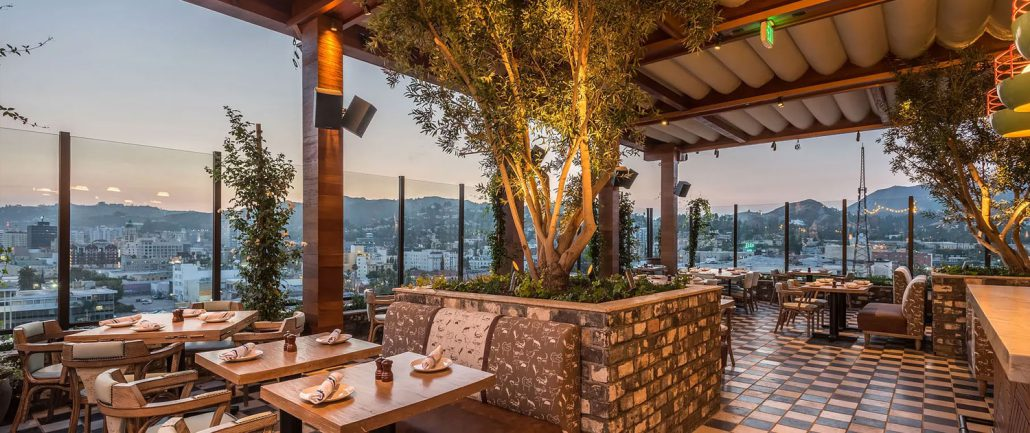 Best Rooftop Bars In Los Angeles Hollywood Beverly