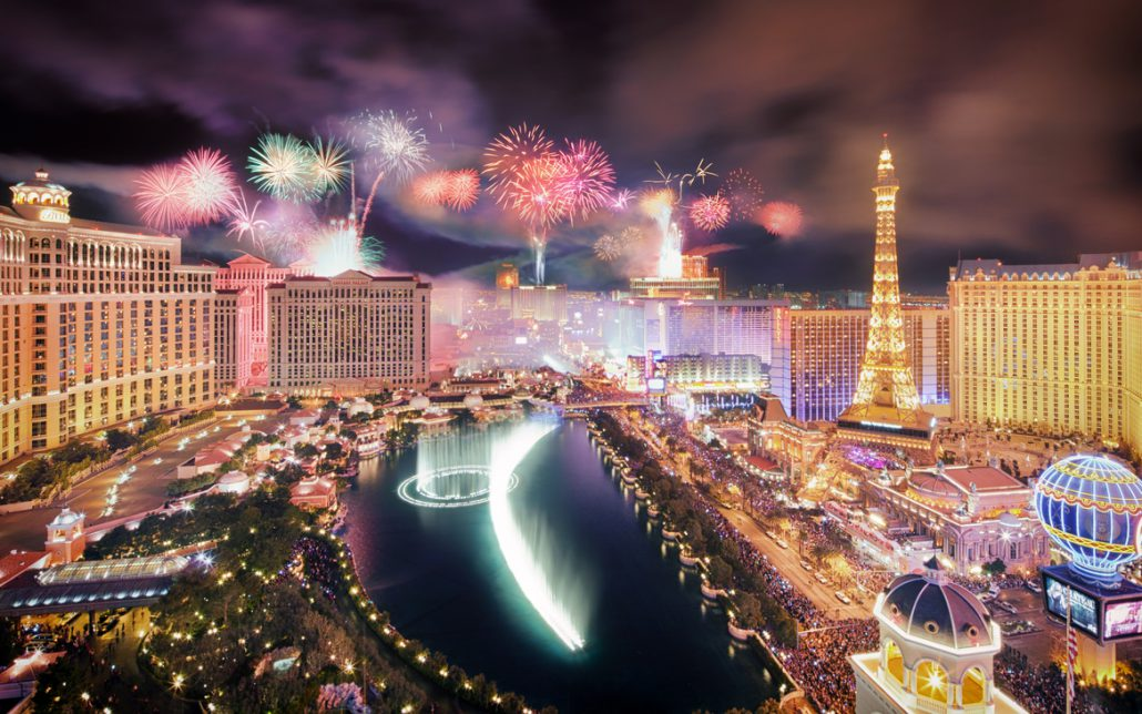 Image result for Las Vegas new year's eve