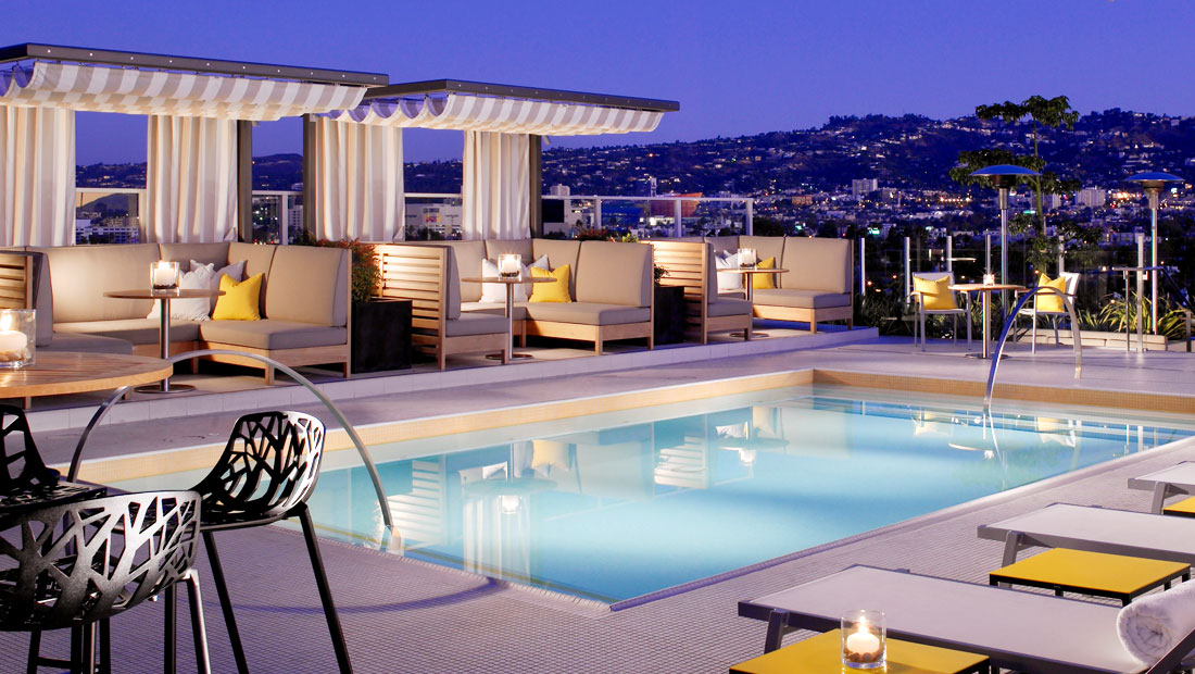 High rooftop lounge archives discotech the 1 - Best hotel swimming pools in los angeles ...