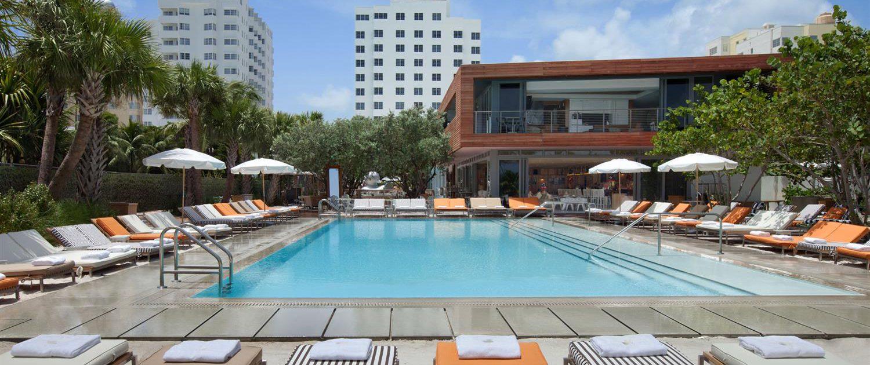 4. Hyde Beach at the SLS Hotel ...