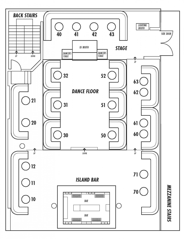 Beverly Hills Supper Club Floor Plan 1 Oak La Bottle Service Discotech The 1 Nightlife App