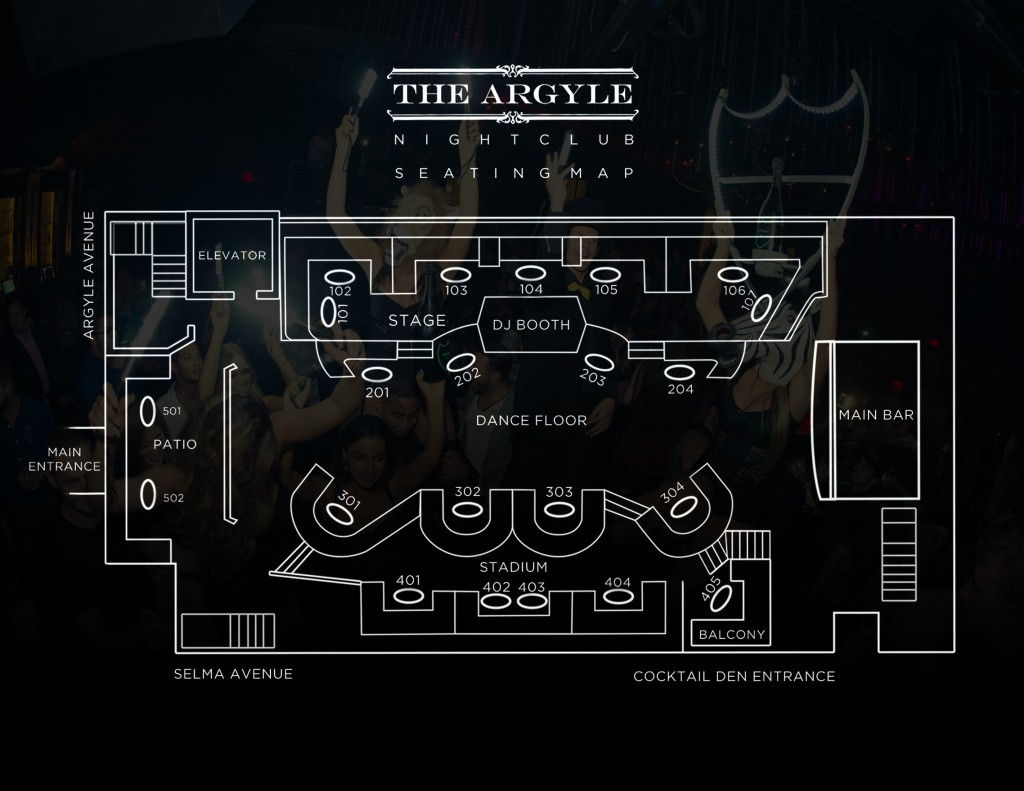 The Argyle Bottle Service Discotech 1 Nightlife App