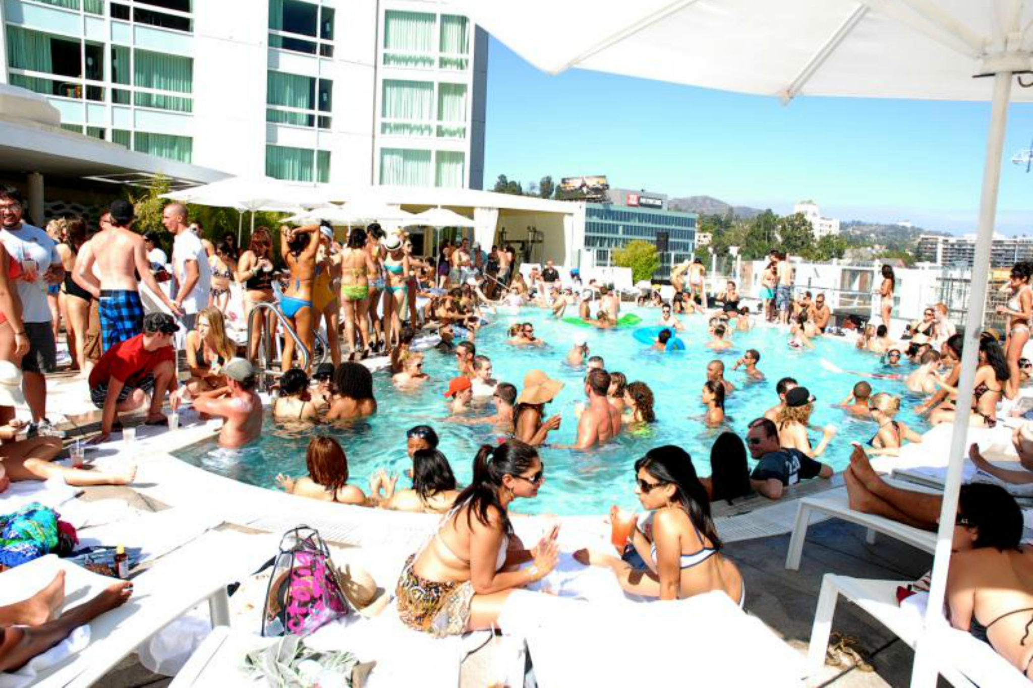 What are the best la pool parties in 2015 discotech - Best swimming pools in los angeles ...